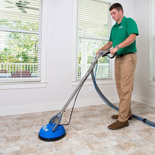 Chem-dry professional tile cleaning