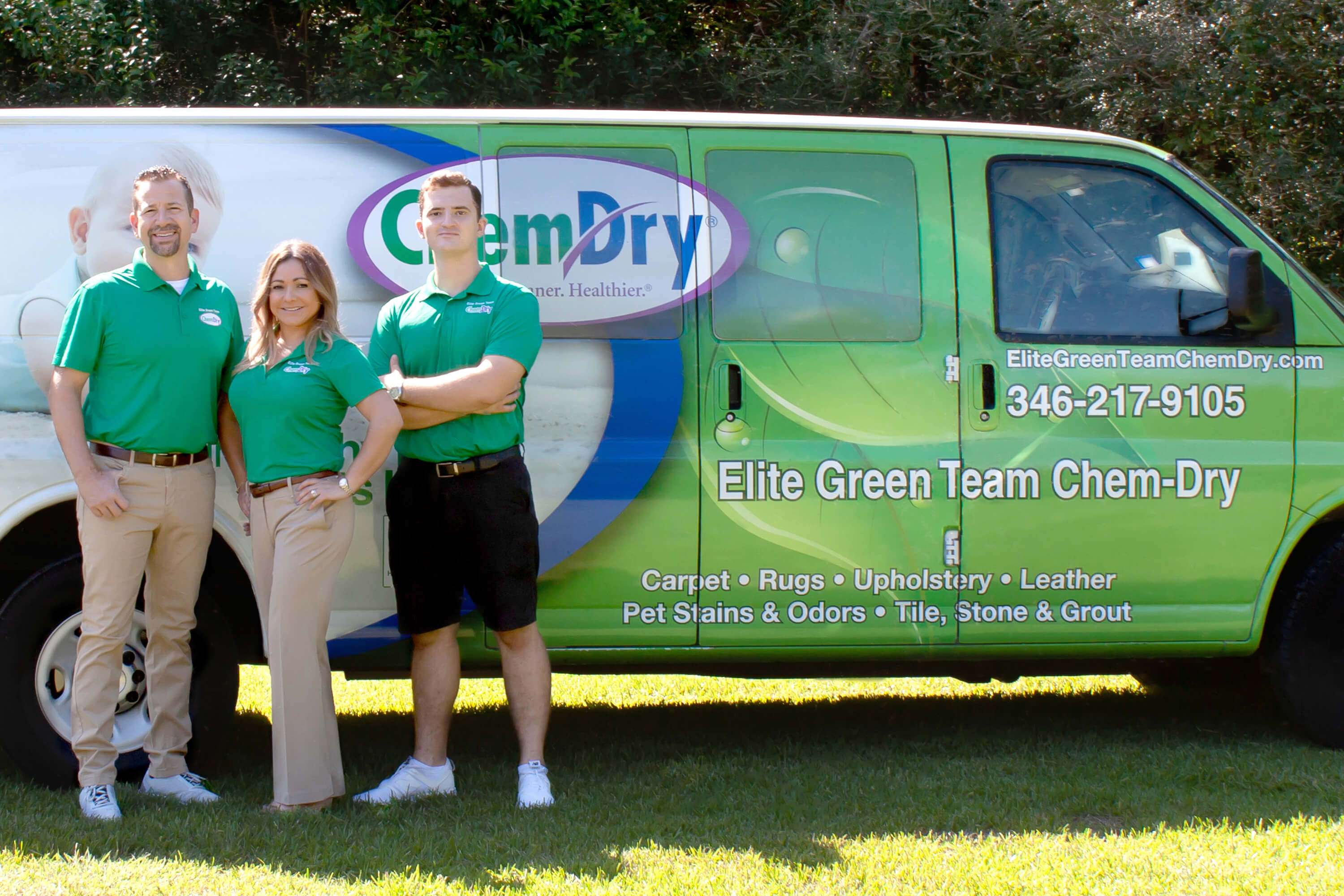 Elite Green Team Chem-Dry carpet cleaning