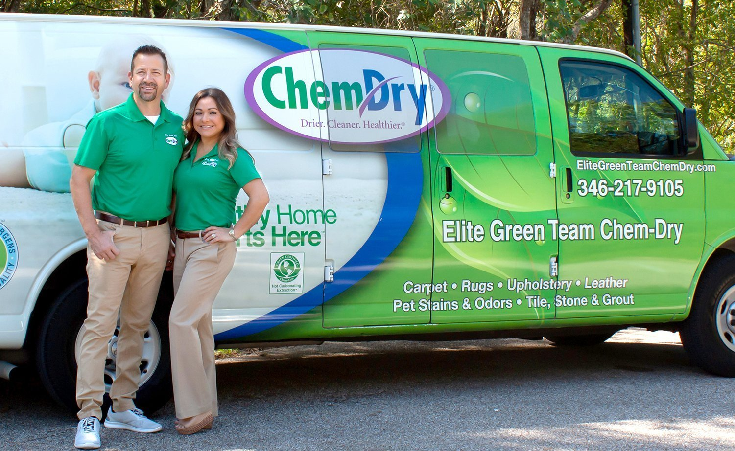 elite green team chemdry friendswood texas